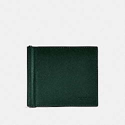 MONEY CLIP BILLFOLD - RACING GREEN - COACH F26012