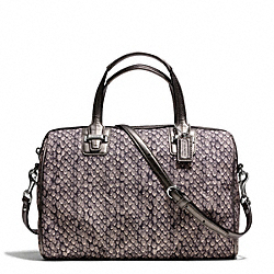 COACH TAYLOR SNAKE PRINT SATCHEL - ONE COLOR - F26037