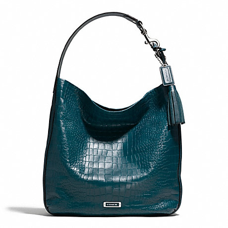 COACH AVERY EMBOSSED CROC HOBO -  - f26122