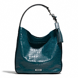 COACH AVERY EMBOSSED CROC HOBO - ONE COLOR - F26122