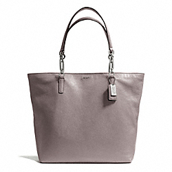 COACH MADISON LEATHER NORTH/SOUTH TOTE - ONE COLOR - F26225