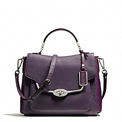 COACH MADISON SMALL SADIE FLAP SATCHEL IN SAFFIANO LEATHER - ONE COLOR - F26274
