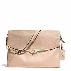 COACH MADISON GLITTER LIZARD SHOULDER FLAP - ONE COLOR - F26322