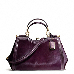 COACH MADISON MIXED HAIRCALF CARRIE SATCHEL - ONE COLOR - F26342