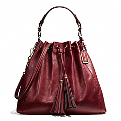 COACH MADISON PINNACLE LEATHER LARGE DRAWSTRING SHOULDER BAG - ONE COLOR - F26343