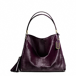 COACH MADISON MIXED HAIRCALF PHOEBE SHOULDER BAG - ONE COLOR - F26344