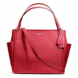 COACH SAFFIANO LEATHER BABY BAG TOTE - ONE COLOR - F26353