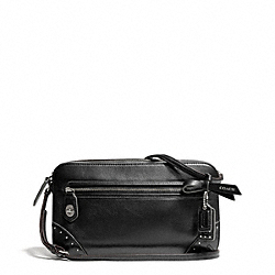 COACH STUDDED LEATHER POPPY FLIGHT BAG - ONE COLOR - F26415