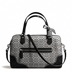 COACH POPPY SIGNATURE C METALLIC OUTLINE EAST/WEST SATCHEL - ONE COLOR - F26426
