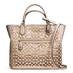 COACH POPPY SEQUIN SIGNATURE C SMALL BLAIRE TOTE - ONE COLOR - F26432