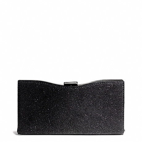 COACH MADISON FRAME CLUTCH IN CAVIAR LEATHER -  - f26481
