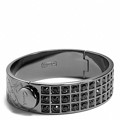 COACH SMALL BEVELED PAVE BRACELET -  - f26495