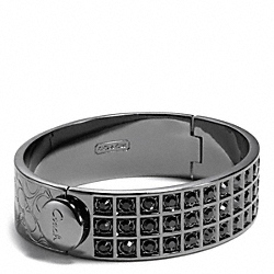 COACH SMALL BEVELED PAVE BRACELET - ONE COLOR - F26495