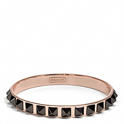 COACH PYRAMID SPIKE BANGLE - ONE COLOR - F26539