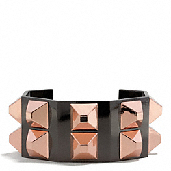 COACH OCTAGONAL PYRAMID CUFF - ONE COLOR - F26543