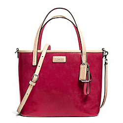 COACH PARK METRO PATENT SMALL TOTE - ONE COLOR - F26731