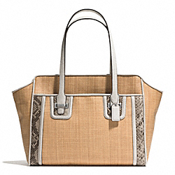 COACH TAYLOR STRAW CARRYALL - ONE COLOR - F26746