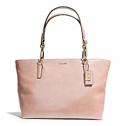 COACH MADISON LEATHER EAST/WEST TOTE - ONE COLOR - F26769