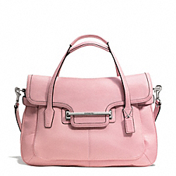 COACH TAYLOR LEATHER MARIN FLAP SATCHEL - ONE COLOR - F26781