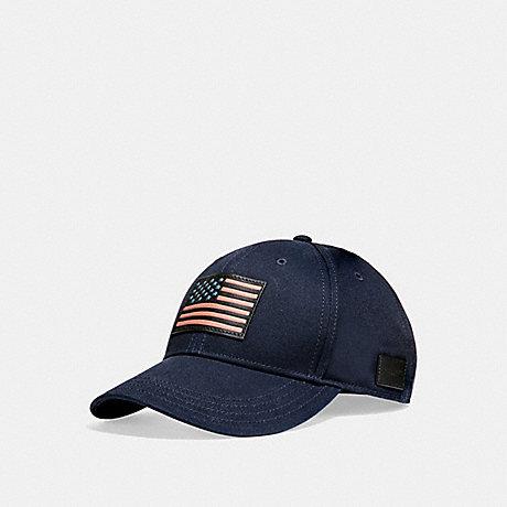 COACH AMERICANA CAP - NAVY - f26807