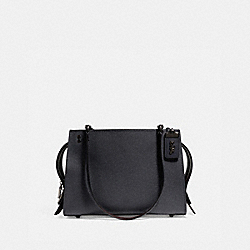 ROGUE SHOULDER BAG - MIDNIGHT NAVY/BLACK COPPER - COACH F26829