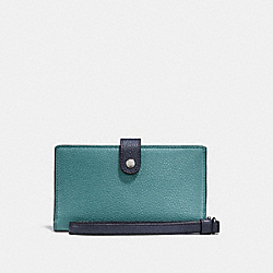 PHONE WRISTLET IN COLORBLOCK - MARINE MULTI/SILVER - COACH F26954