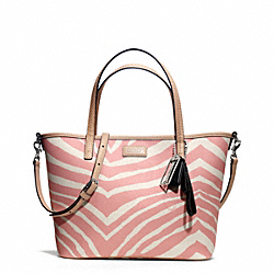 COACH PARK METRO ZEBRA SMALL TOTE - ONE COLOR - F26999