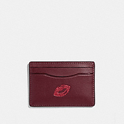 CARD CASE WITH LIPS - MULTICOLOR 1/SILVER - COACH F27038