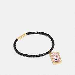 CRACKER JACK® BRACELET - BLACK/MULTICOLOR - COACH F27188