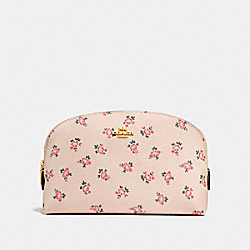 COSMETIC CASE 22 WITH FLORAL BLOOM PRINT - LI/BEECHWOOD FLORAL BLOOM - COACH F27279
