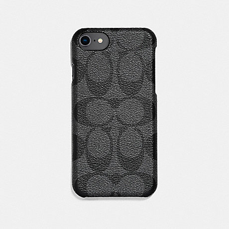 COACH SIGNATURE IPHONE 7/X CASE - GREY - F27296