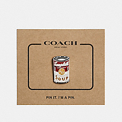 CAMPBELL'S® PIN - MULTICOLOR - COACH F27339