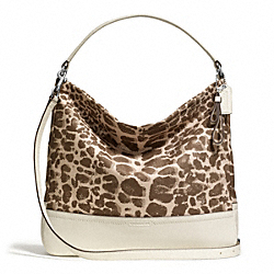 COACH PARK GIRAFFE PRINT HOBO - ONE COLOR - F27354