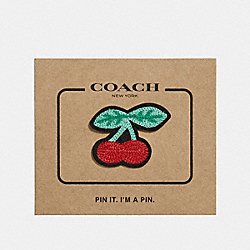 CHERRY PIN - MULTICOLOR - COACH F27369