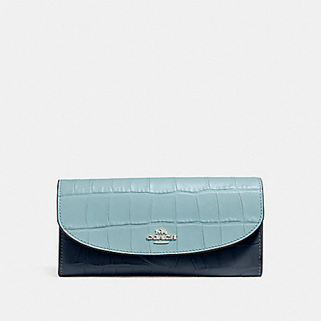 COACH SLIM ENVELOPE WALLET - SVNGV - f27482