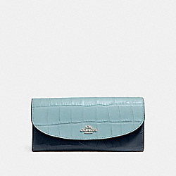 SLIM ENVELOPE WALLET - SVNGV - COACH F27482