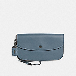 LARGE CLUTCH - BP/CHAMBRAY - COACH F27528
