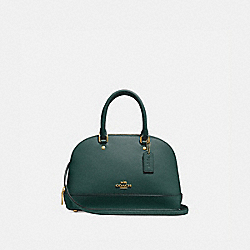 MINI SIERRA SATCHEL - IM/EVERGREEN - COACH F27591