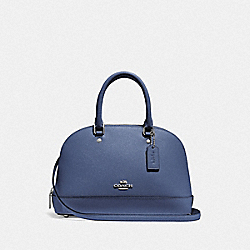 MINI SIERRA SATCHEL - SV/BLUE LAVENDER - COACH F27591