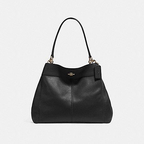COACH LEXY SHOULDER BAG - BLACK/IMITATION GOLD - f27593