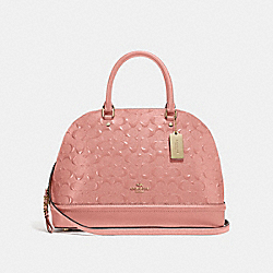 SIERRA SATCHEL IN SIGNATURE LEATHER - MELON/LIGHT GOLD - COACH F27598