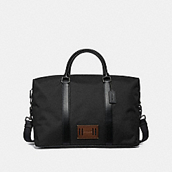 VOYAGER BAG - BLACK/BLACK ANTIQUE NICKEL - COACH F27610