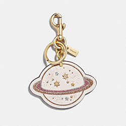SATURN BAG CHARM - f27652 - MULTI/GOLD
