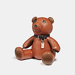 BEAR PAPERWEIGHT - PEPPER - COACH F27677