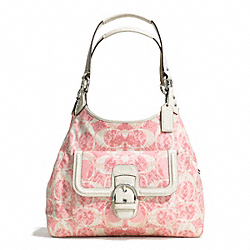 COACH CAMPBELL SNAKE C PRINT HOBO - ONE COLOR - F27894