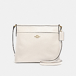 COACH FILE CROSSBODY - CHALK/LIGHT GOLD - F28035