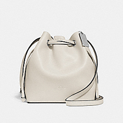 DERBY CROSSBODY - SILVER/CHALK - COACH F28039