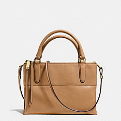 COACH THE MINI PEBBLE LEATHER BOROUGH BAG - GDCAM - F28163