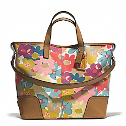 COACH HADLEY FLORAL PRINT DUFFLE - ONE COLOR - F28287