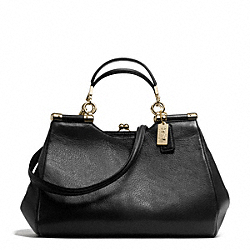 MADISON CARRIE IN LEATHER COACH F28288